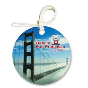 Round Bag & Luggage Tag - Full Color